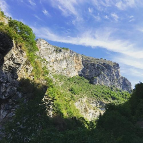 Recovering in a French Gorge